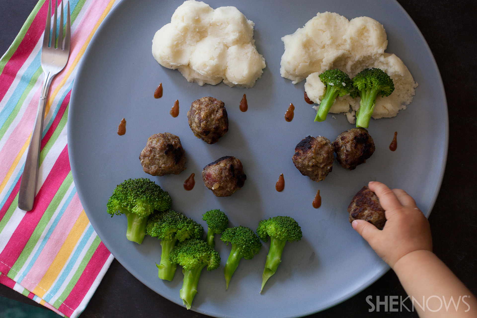 Dinner forecast is cloudy with a chance of meatballs