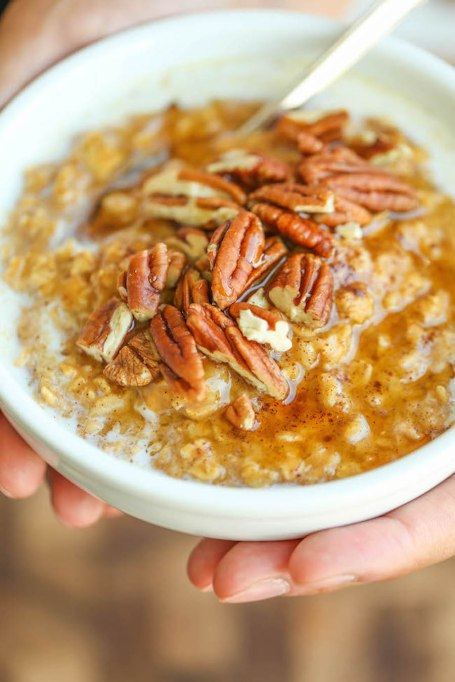 Title Pumpkin Pie Oatmeal