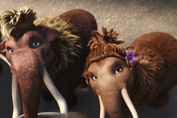 Ice Age 4 mammoths