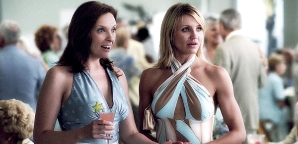 Toni Collete and Cameron Diaz walk In Her Shoes