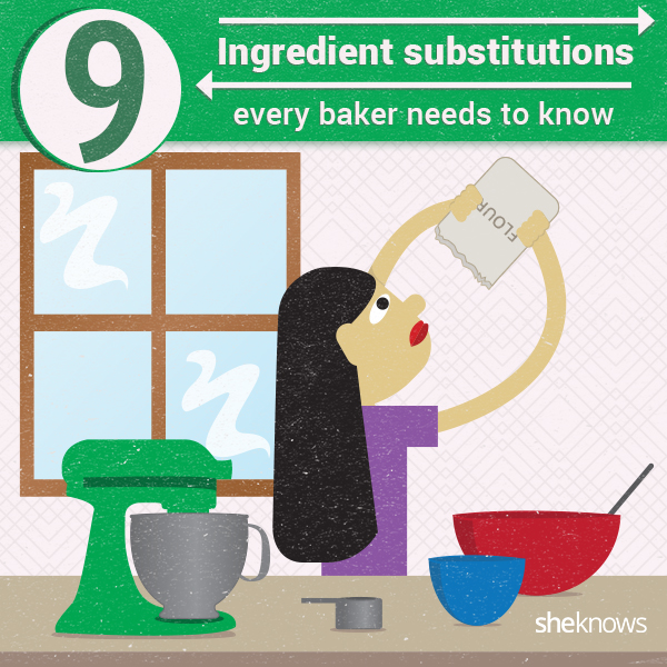 baking substitutions