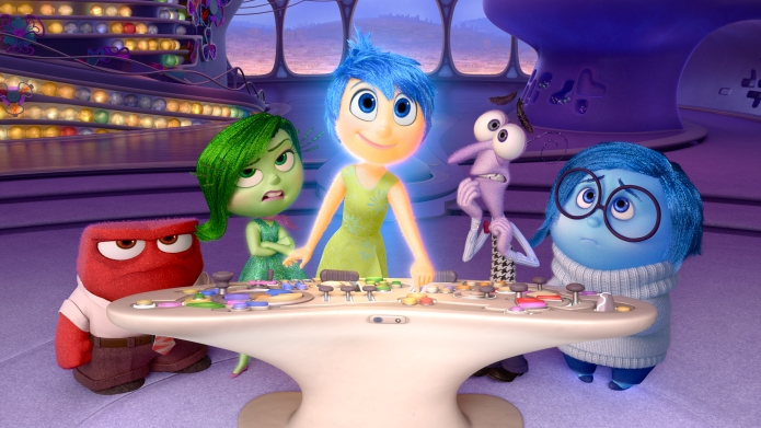 """Disney•Pixar's """"Inside Out"""" takes us to"""
