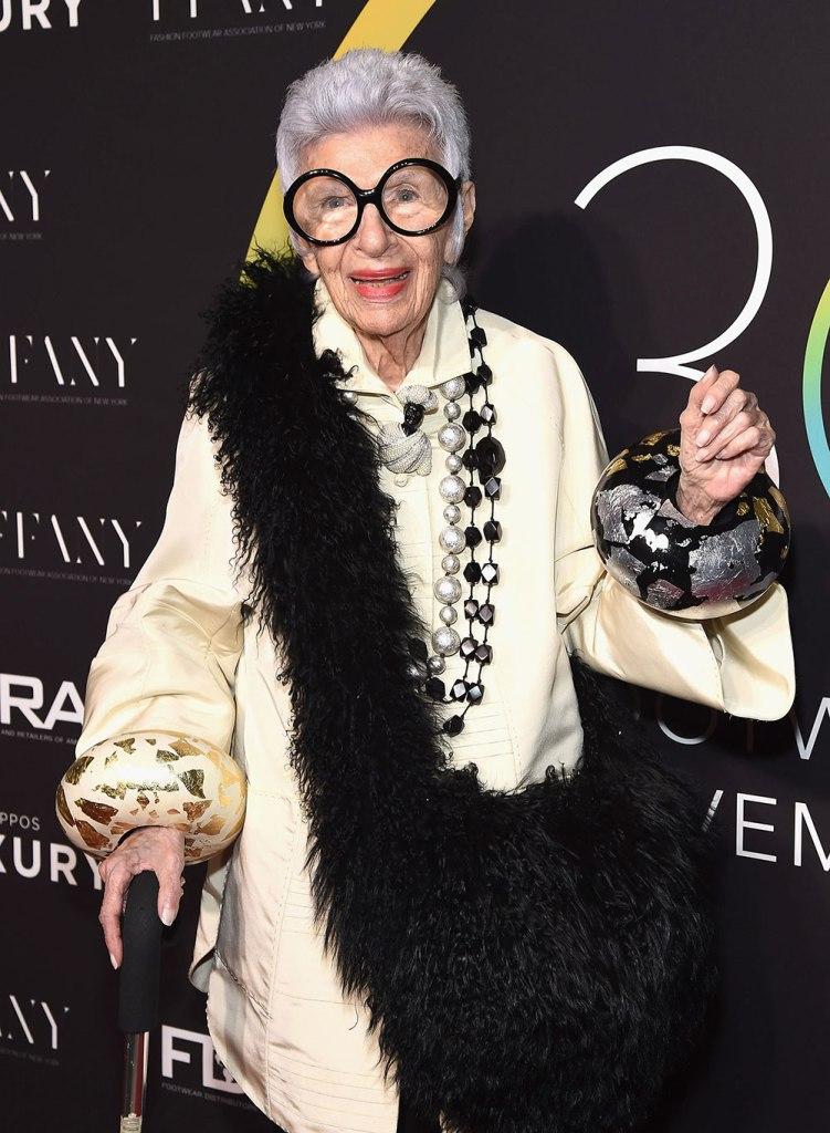 Dressing More Original: Iris Apfel Queen of accessories