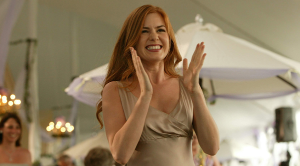 Isla Fisher in her breakout role in Wedding Crashers