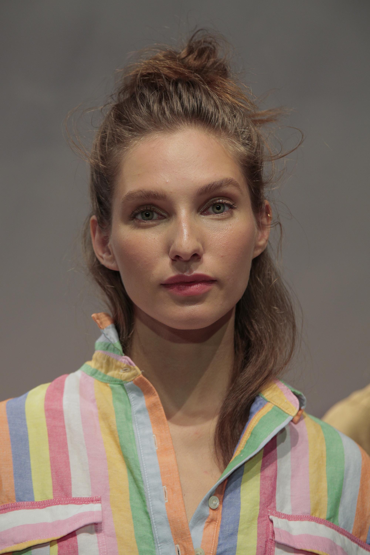 J Crew fashion week makeup trend