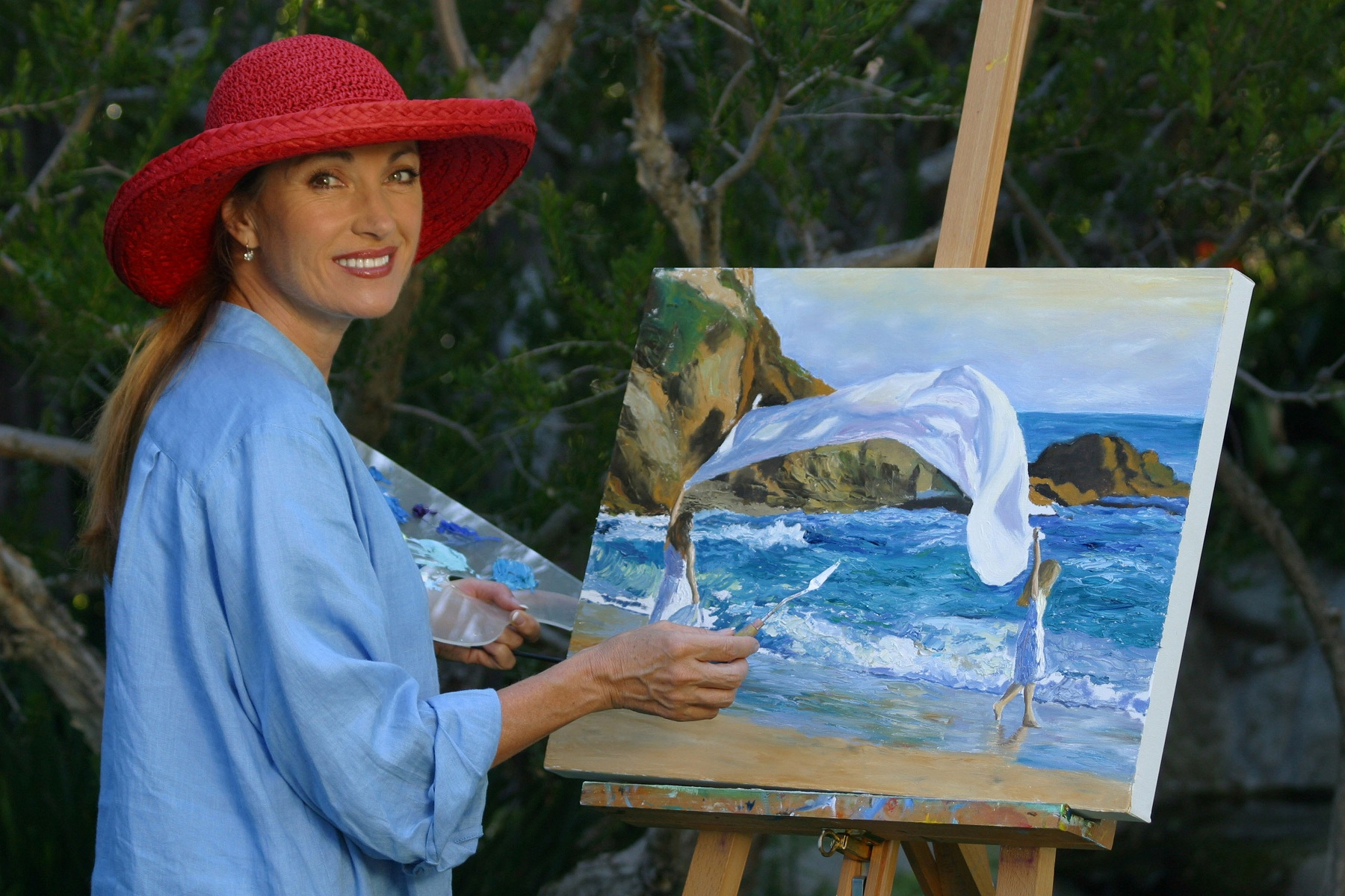Jane Seymour painting