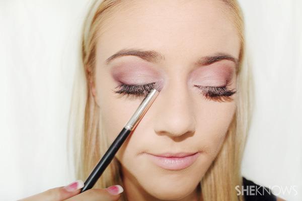 January Jones party makeup tutorial