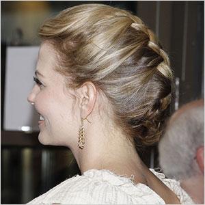 Jennifer Morrison french braid