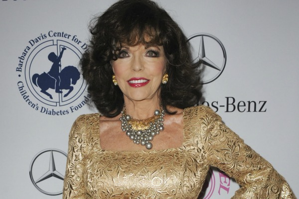 Joan Collins and celebrities who embrace the aging process