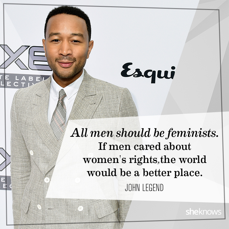 John Legend Feminism Quote