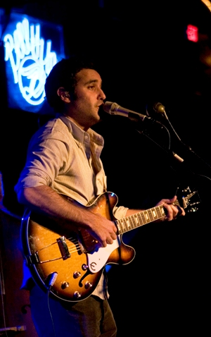 Joshua Radin performs and lets us backstage