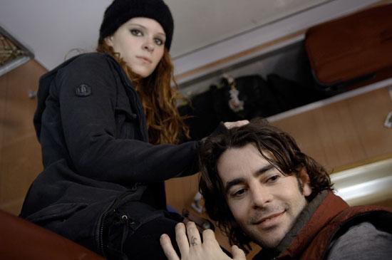 If looks could kill, Kate Mara is dishing it in Transsiberian