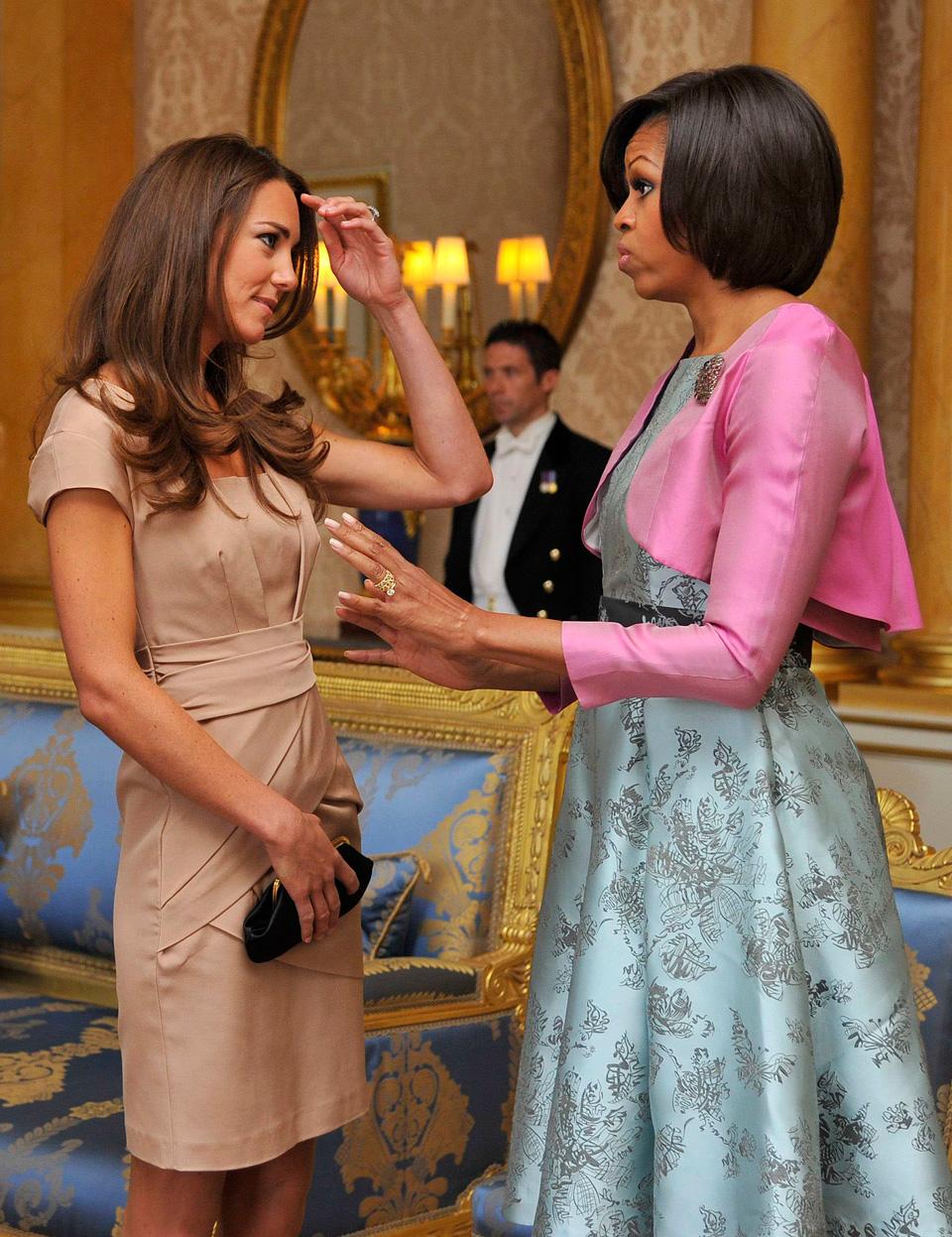 Michele Obama and Kate Middleton