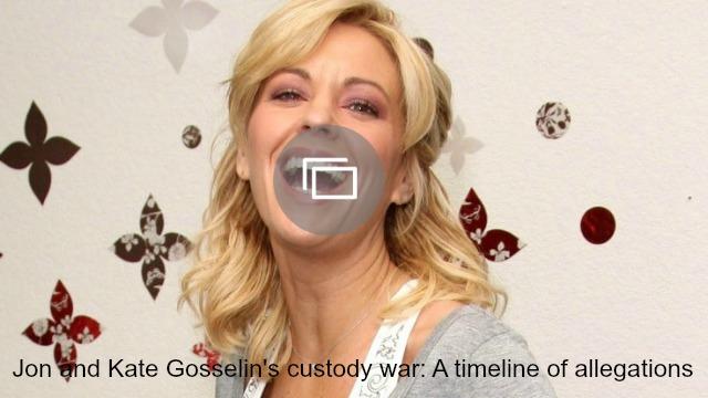 Kate Gosselin allegations slideshow