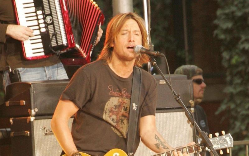 Keith Urban's Hair in 2005