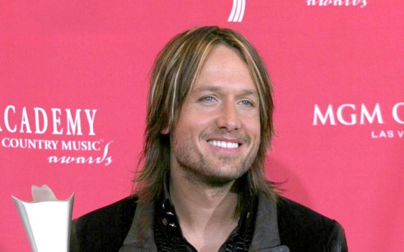 Keith Urban's hair in 2006