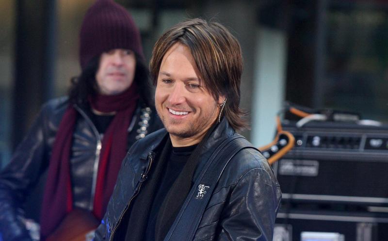 Keith Urban's hair in 2007