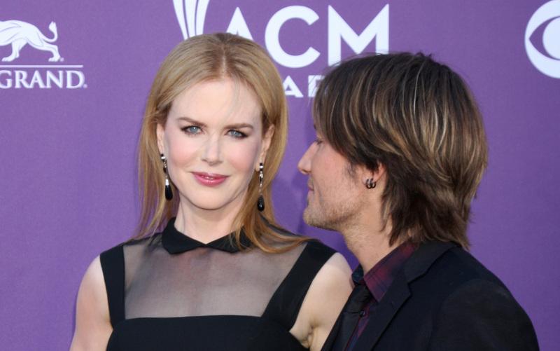 Keith Urban and Nicole Kidman in 2012