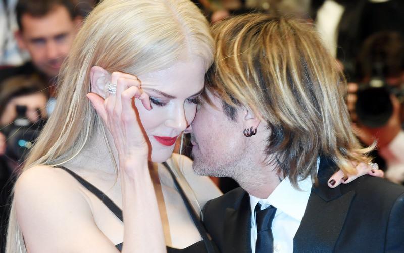 Keith Urban and Nicole Kidman in 2017