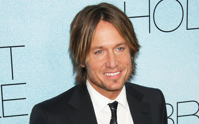 Keith Urban's hair in 2010