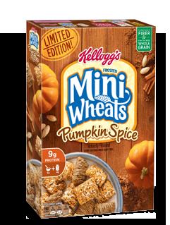 Kellogg's® Mini-Wheats® Pumpkin Spice