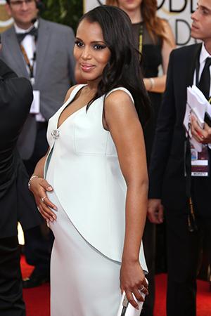 Kerry Washington pregnancy style