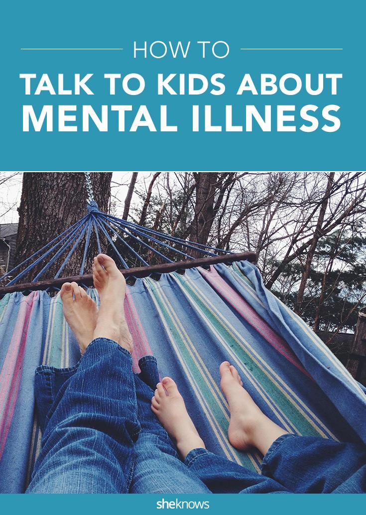 talking to kids mental illness