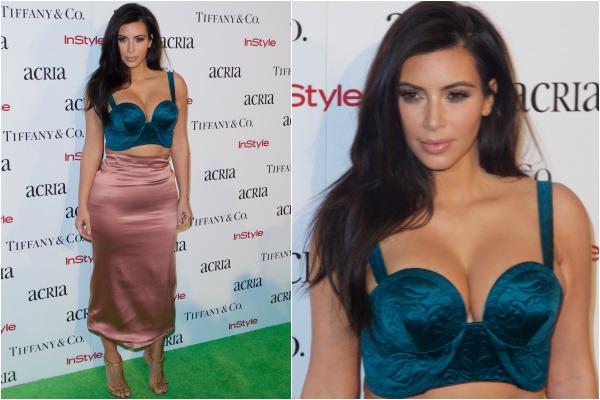 Kim Kardashian's flesh-toned fashion