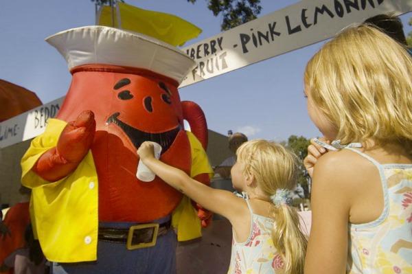 Kool-Aid man at festival