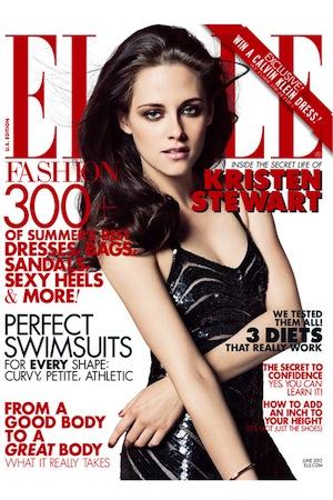 Kristen Stewart talks Robert Pattinson in Elle.