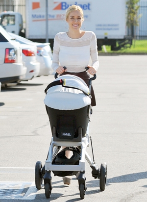 Kristin Cavallari and baby Camden Jack