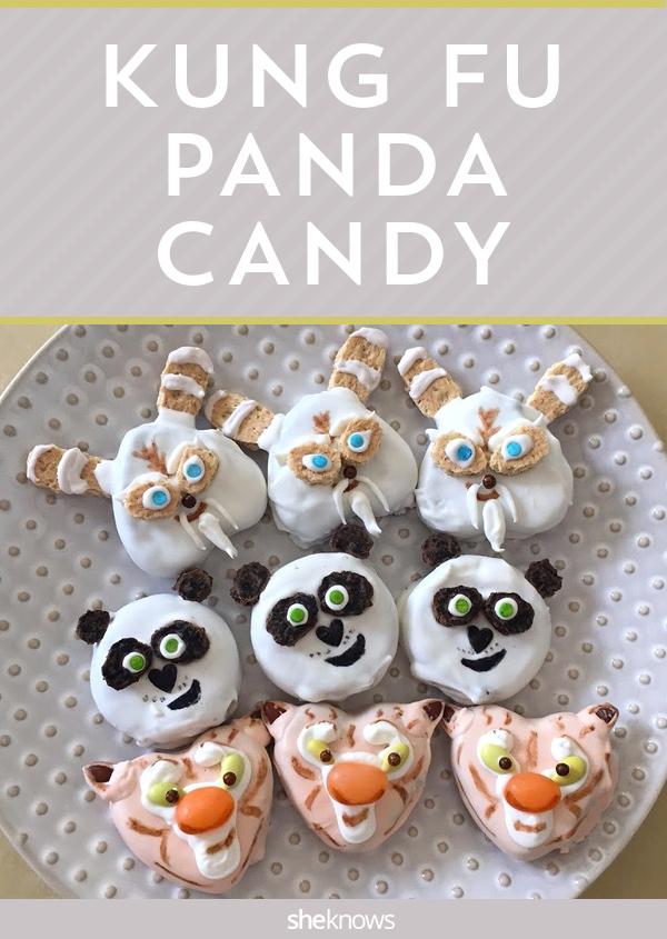kung fu panda candies