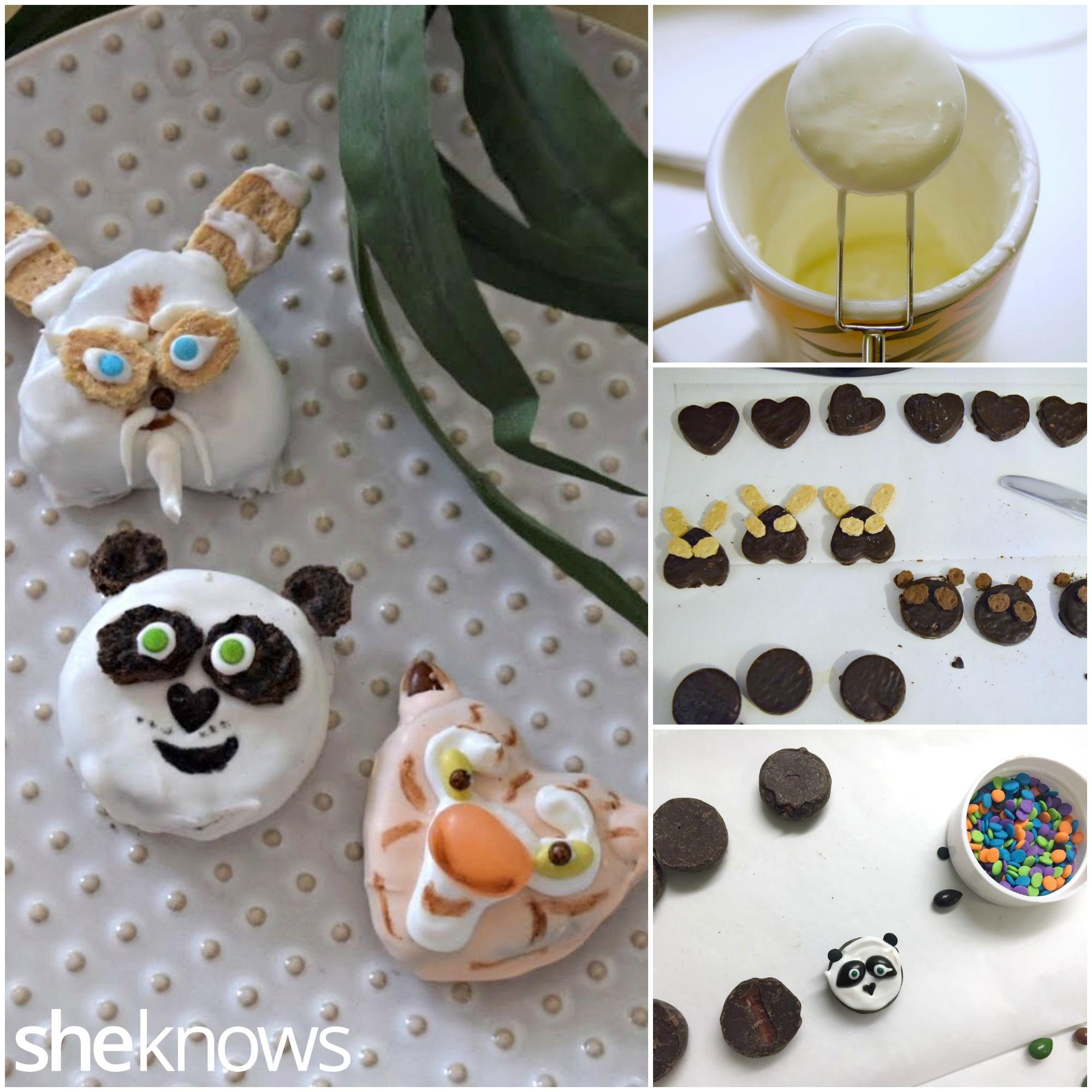 How to make Kung Fu Panda candies