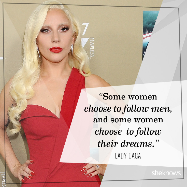 Lady Gaga Feminism Quote