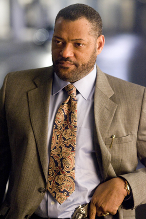 Fishburne is joining the force
