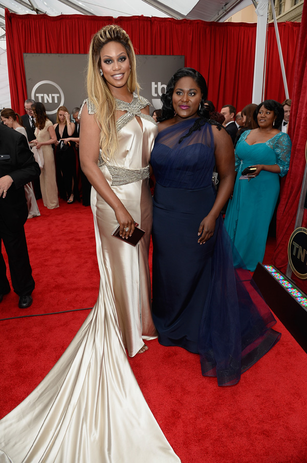 Laverne Cox and Danielle Brooks SAG Awards