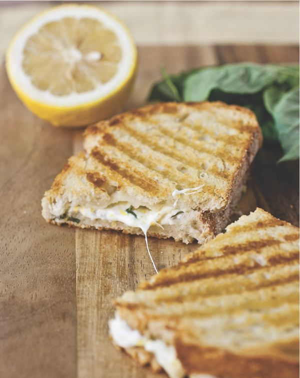 lemon grilled cheese