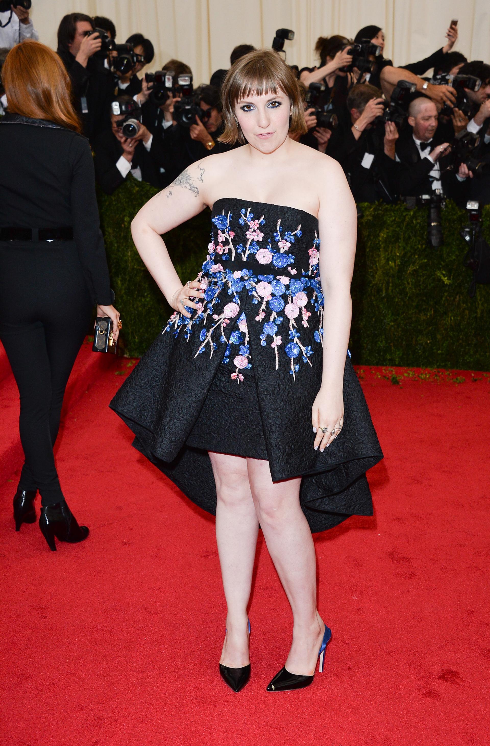 Lena Dunham: Creative fashionista