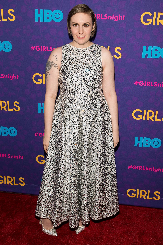Lena Dunham: Sparkling personality