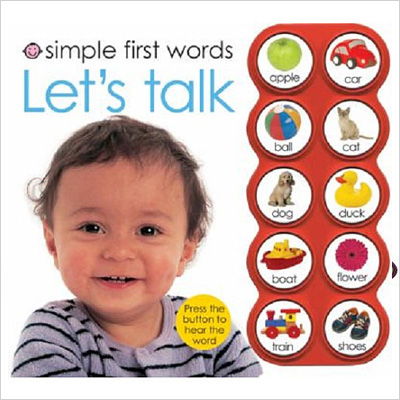 Let's Talk Book for Babies and Toddlers