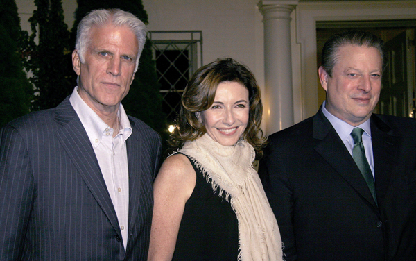 Ted Danson, Mary and Vice President Al Gore