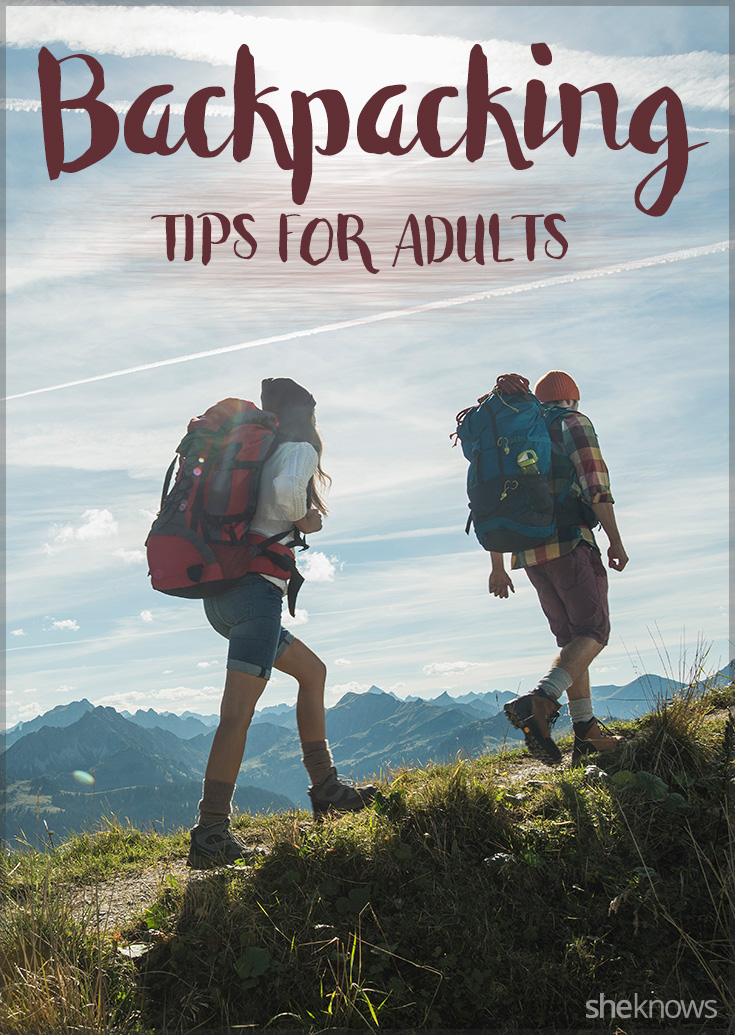 Tips for backpacking as an adult