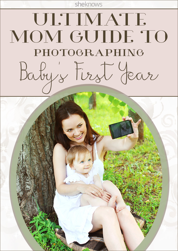 Tips for photographing your baby's first year