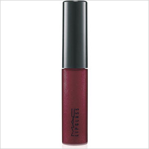 MAC tinted lip glass in love child