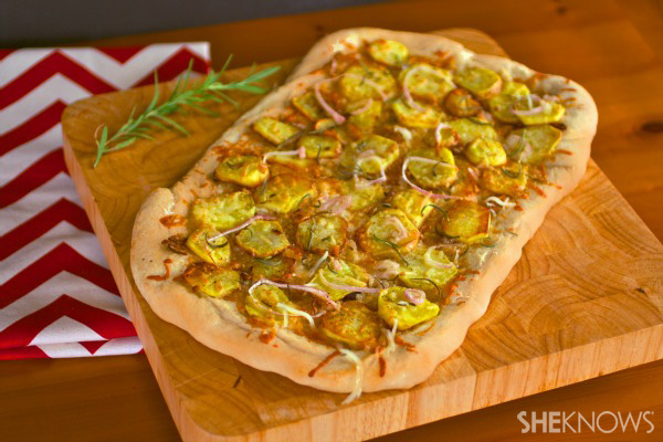 Meatless Monday: Potato-rosemary pizza
