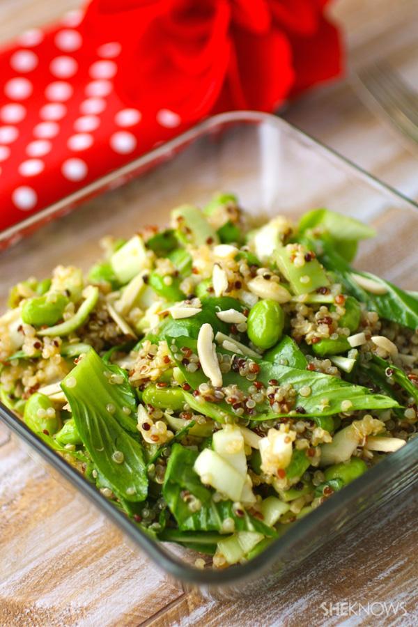 bok choy quinoa salad