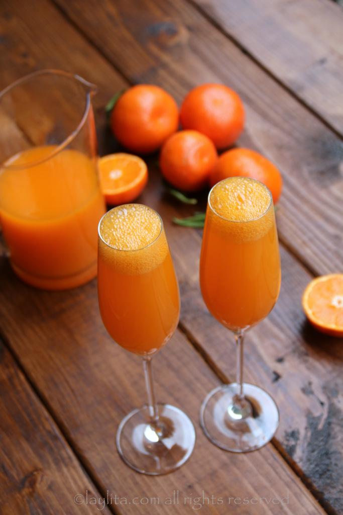 mandarin mimosa