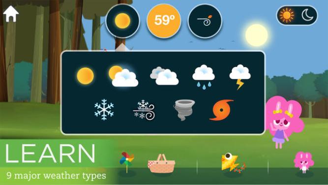 MarcoPolo Weather - Best Kids Apps 2018