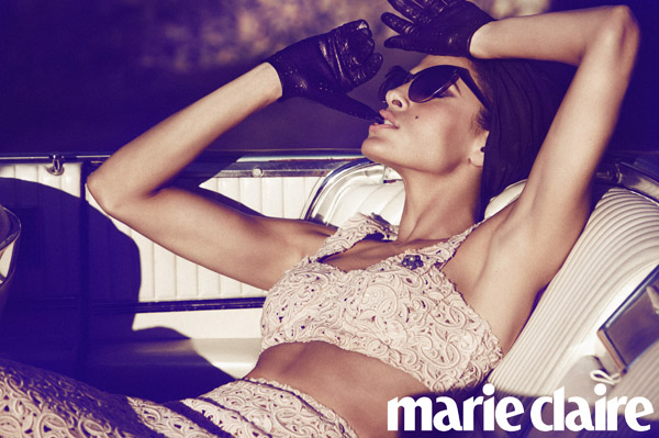 Eva Mendes in Marie Claire