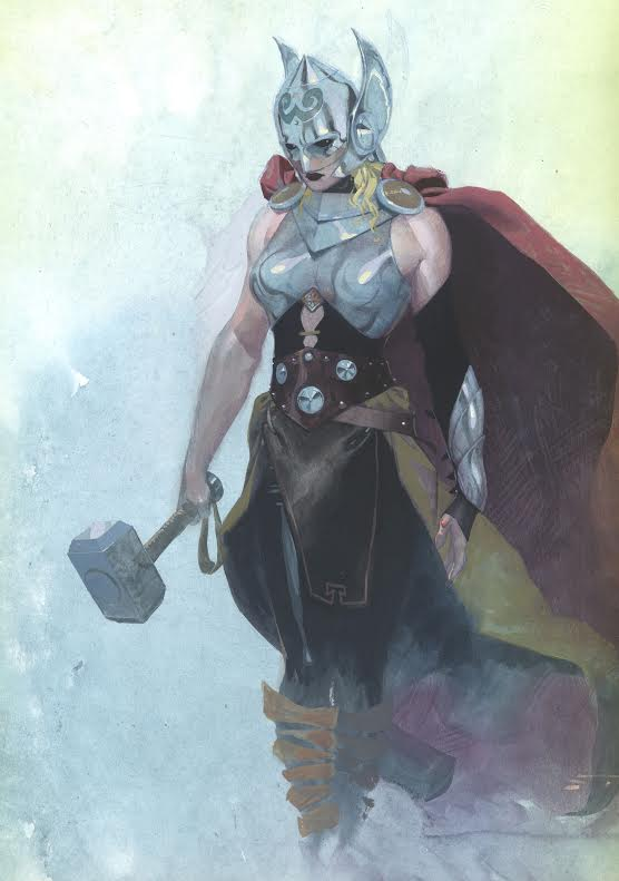 Marvel unveils new Thor, as a woman
